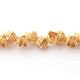 1 Strands 24k Gold Plated Copper Square Shape Half Cap Beads, Designer Beads, Jewelry Making , 4mmx8mm,  gpc1130 - Tucson Beads