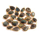 25 Pcs Labradorite 24k Gold Plated Faceted Assorted Shape Pendant---Labradorite Pendant 16mmx10mm-25mmx14mm PC363 - Tucson Beads