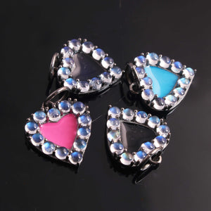 5 Pcs Designer 24k Gold Plated Rectangle Charm ,Copper I LOVE YOU Pendant Design Charm,Jewelry Making 31mmx21mm GPC965 - Tucson Beads