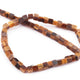 1 Long  Strand Brown Tiger Eye Cube Briolettes - Box Shape Beads 7mm-16  Inches BR2728 - Tucson Beads