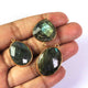 3  Pcs Labradorite  Faceted Assorted  Shape 24k Gold Plated Pendant & Connector - 30mmx20mm-PC480 - Tucson Beads