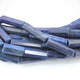 1 Long Strand Lapis Lazuli Faceted Tube Beads Briolettes - Lapis Lazuli Beads 31mmx8mm-14mmx5mm 14.5  Inches BR3258 - Tucson Beads