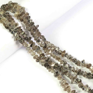 1 Strand AAA Clear  Herkimer Diamond Quartz Nuggets, - Center Drilled Beads -  3mmx5mm-4mmx11mm 8 Inches  BR4128 - Tucson Beads