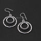 1 Pair 925 Silver Plated Copper Earrings Charms, Earrings, For Earring Making, 33mmx23mm-20mmx10mm , GPC1074 - Tucson Beads