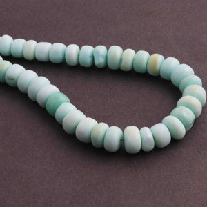 1 Strand Peru Opal Faceted Roundelles  - Round Shape Beads 6mm-13mm 9.5 Inches BR118 - Tucson Beads