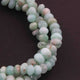 1 Long Strand Chrysoprase Faceted Rondelles - Chrysoprase  Roundel Beads 7mm-9mm 10 Inches BR756 - Tucson Beads