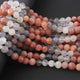 1  Strand Multi Moontone Faceted Balls  - Roundel ball Beads 8mm-9mm 12 Inches BR664 - Tucson Beads