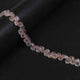 1 Strand Rose Quartz Faceted Heart Briolettes- Rose Quartz Heart Beads 6mmx4mm 7.5 Inches BR784 - Tucson Beads