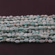 3 Long Strands Amazonite Smooth Oval Shape Briolettes -Amazonite Oval Beads 6mmx5mm-11mmx6mm 13 inches RB442 - Tucson Beads