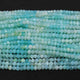 5 Strands Peru Opal Faceted Rondelles, Round Beads 4mm-5mm 13 inche RB009 - Tucson Beads