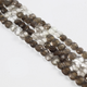 1 Strand Shaded Smoky Quartz Faceted Coin Briolettes - Shaded Smoky Coin Beads 6mmx6mm-9mmx9mm 8 inches BR2695 - Tucson Beads