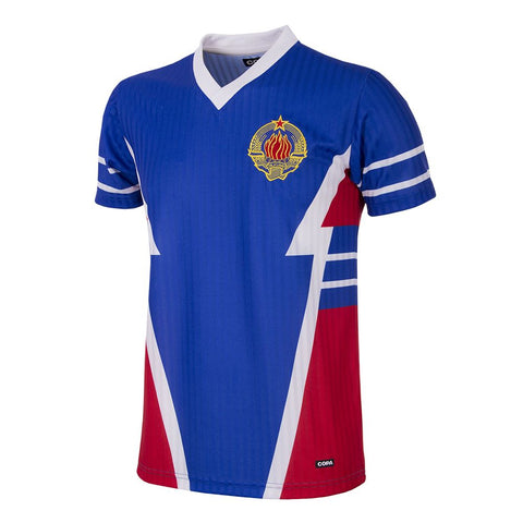 YUGOSLAVIA 1990 SHORT SLEEVE RETRO FOOTBALL SHIRT