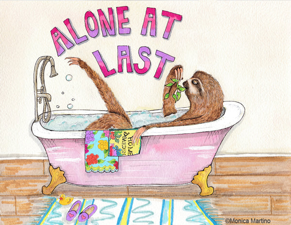 Alone At Last by Monica Martino