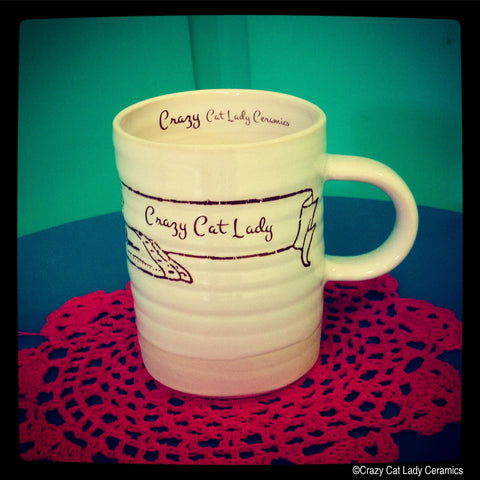 Crazy Cat Lady Ceramics Mug