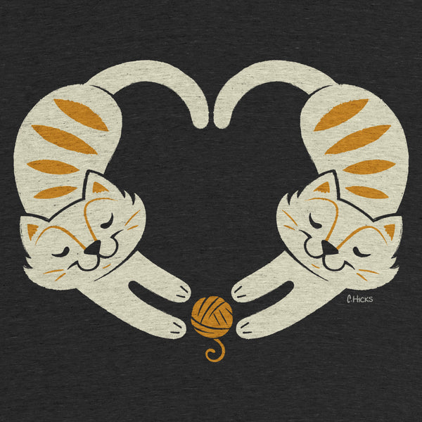 I Heart Cats Tee by Caley Hicks