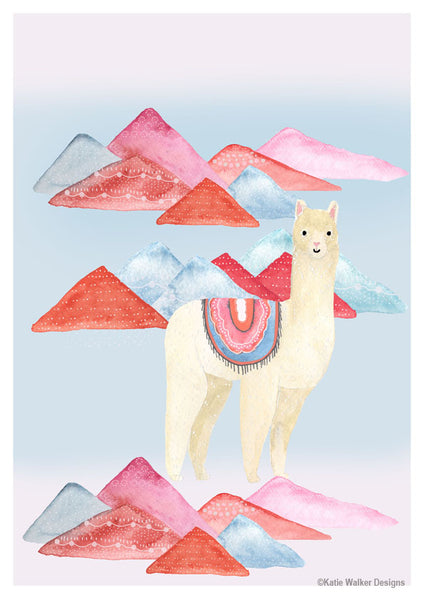 Lama by Katie Walker Designs