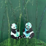 Pandas by artist Monica Webster