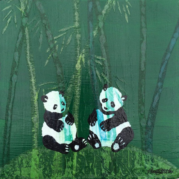 Pandas by Monica Webster