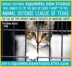 Squirrel Den Studio gives back to Animal Defense League