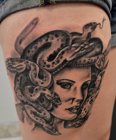 Snake Girl by Kenneth Shaw of Next Wave Tattoo