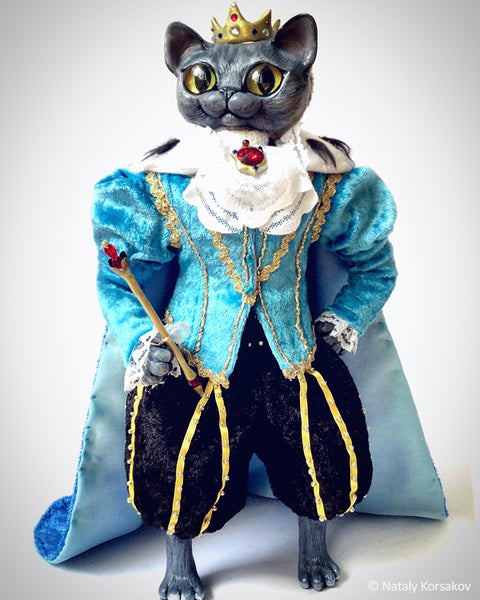 King Percy - made to order from a picture of customer's cat by artist Nataly Korsakov