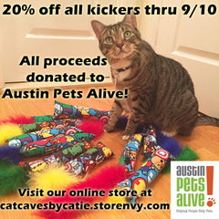 Cat Caves by Catie gives to Sustin Pets Alive