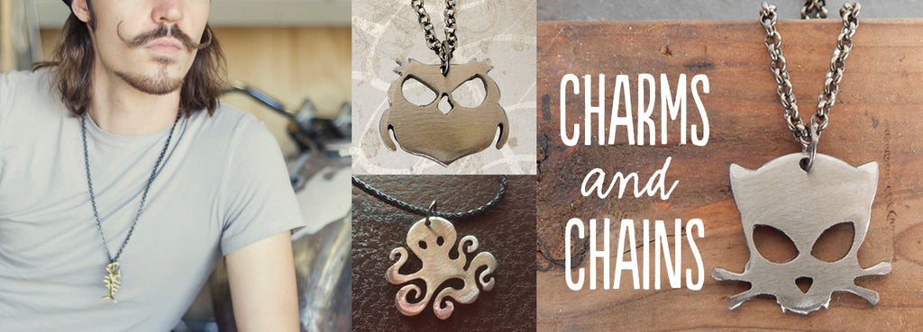 Charms and Chains by WATTO Distinctive Metal Wear
