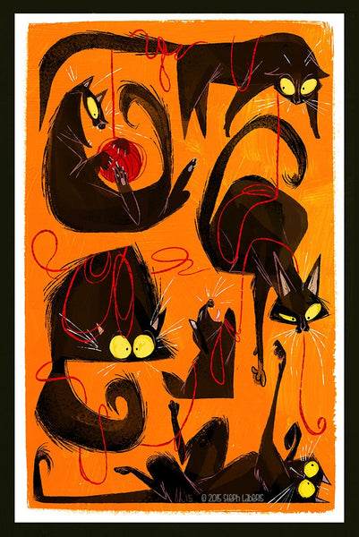 Cats by Steph Laberis