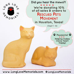 Long Love Memorials gives to Rescued Pet Movements