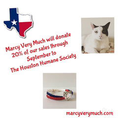 MarcyVeryMuch gives back to Houston Humane Society