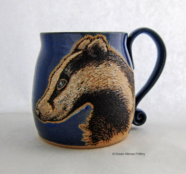Badger mug by Susan Altenau