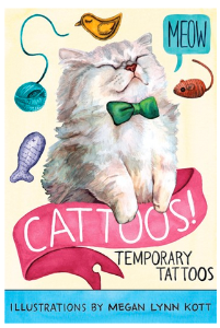 Cattoos Temporary Tattoos by Megan Lynn Kott