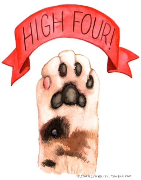High Five Oh Gawd! by Megan Lynn Kott