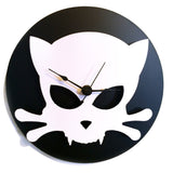 outlaw Kitty clock by Outlaw Kritters