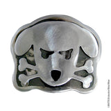 Outlaw Doggy Belt buckle for men or women crafted by WATTO Distinctive Metal Wear