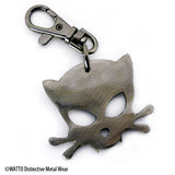 Outlaw Kitty Key Chain for cat lovers with attitude by Outlaw Kritters