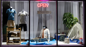 Window Display -- Father's Day 2016