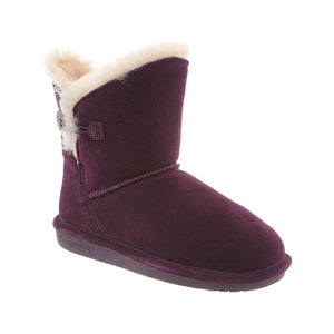 Rosie short boot in Plum by BearPaw