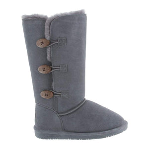 Tall Lauren Boot In Charcoal by BearPaw