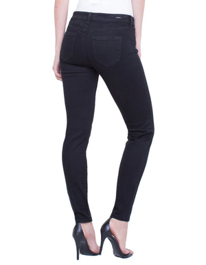 Plus Size LiverPool Abby Skinny Jean  Black