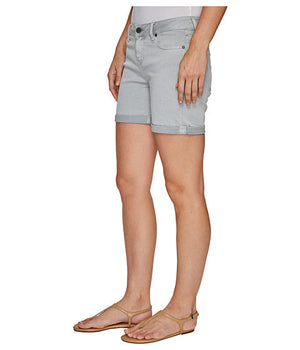 Vickie Peached Twill Shorts for Women by LiverPool