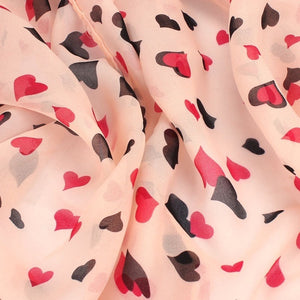 Love Heart Wrap Scarf