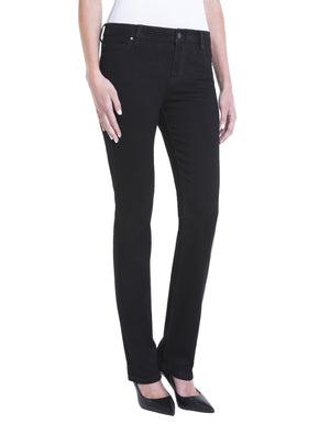 Sadie Straight leg Jean in Black