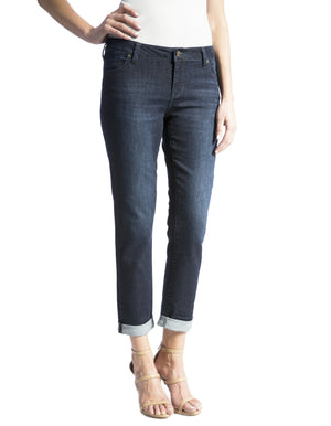 Plus Size Abby Slim Boyfriend Jean