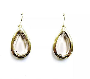 Amy Faceted Gold Earrings