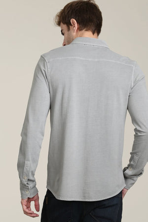 Bass Rock Long Sleeve Button Front Shirt