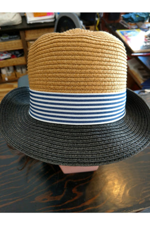 Fedora with Ribbon Trim