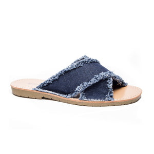 Empowered Denim Sandal