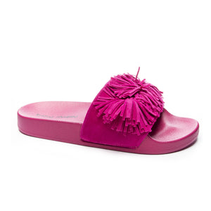 Faron Fuschia Jelly Sandals