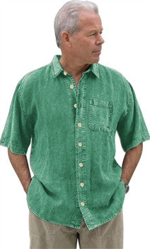 Dash Hemp Camp Cruz Button Down Shirt (Short Sleeve)